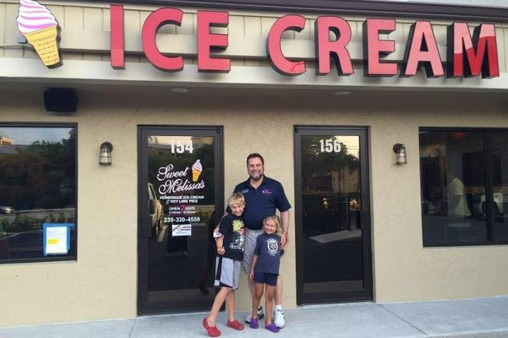 Pet Friendly Sweet Melissa's Ice Cream Shoppe and Key Lime Pies