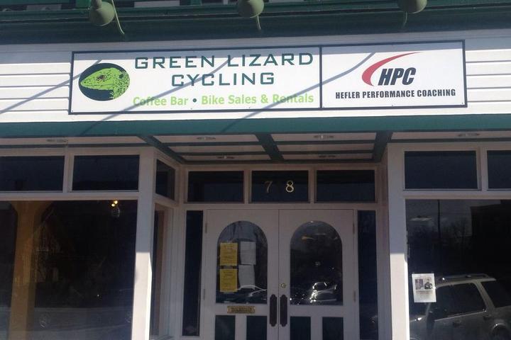 Pet Friendly Green Lizard Coffee Bar