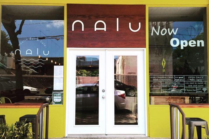 Pet Friendly Nalu Health Bar & Cafe