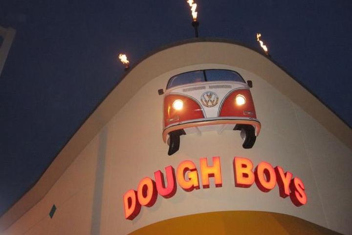 Pet Friendly Dough Boy's California Pizza