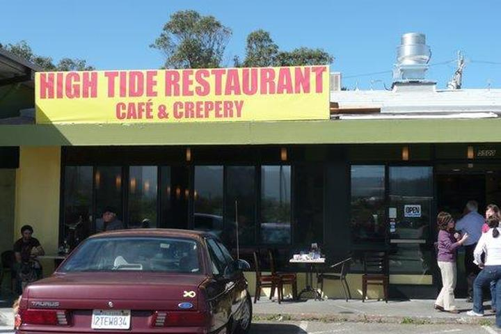 Pet Friendly High Tide Restaurant Cafe and Creperie
