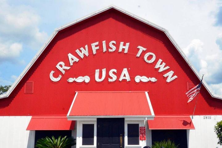 Pet Friendly Crawfish Town USA