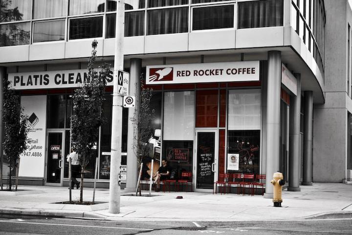 Pet Friendly Red Rocket Coffee