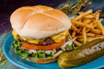 Pet Friendly Cheeseburger in Paradise