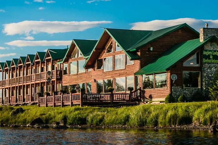 Pet Friendly Angler Lodge & Riverfront Restaurant
