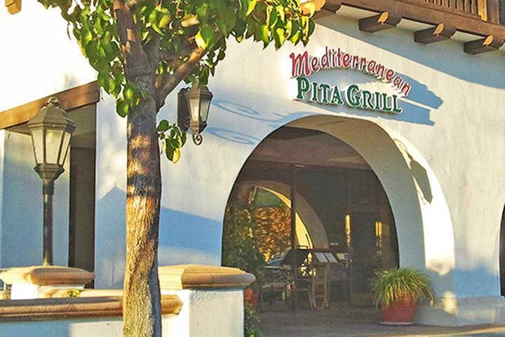 Pet Friendly Mediterranean Pita Grill