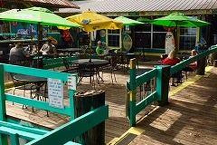 Pet Friendly Huck's Cove Marina Bar & Grill