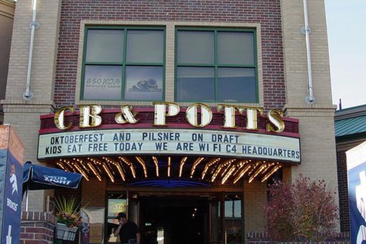 Pet Friendly CB & Potts Restaurant and Brewery - Denver Tech Center
