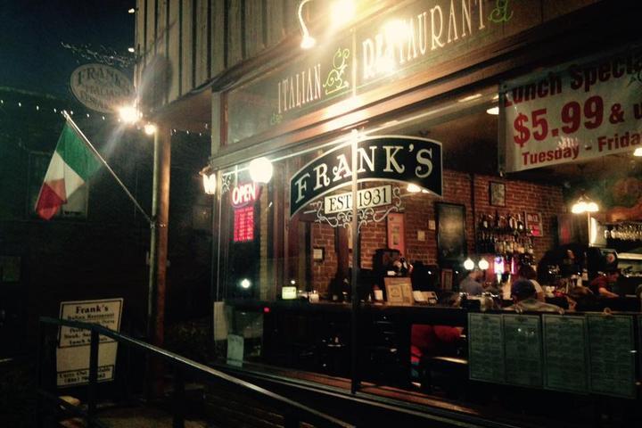 Pet Friendly Frank's Italian Restaurant
