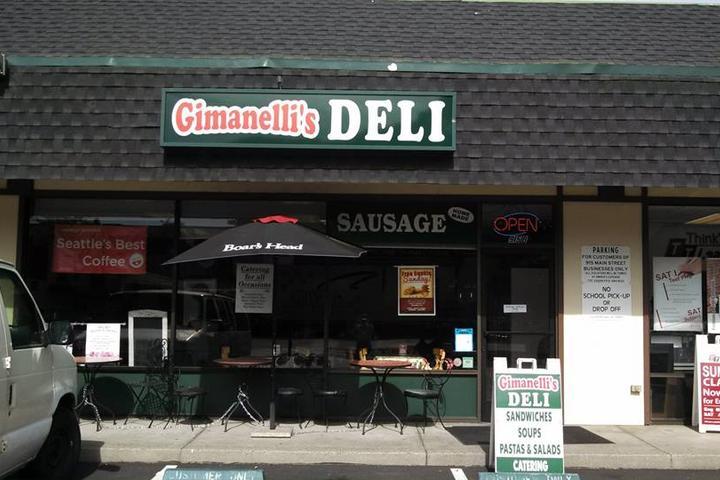 Pet Friendly Gimanelli's Delicatessen