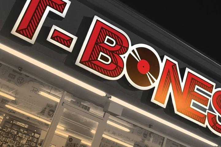 Pet Friendly T-Bones Records & Cafe