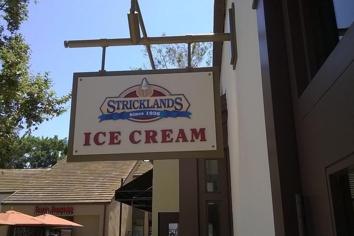 Pet Friendly Stricklands Ice Cream