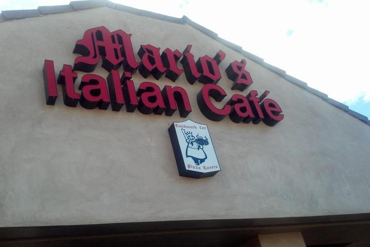 Pet Friendly Mario's Italian Cafe
