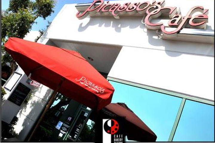 Pet Friendly Picasso's Cafe, Bakery and Catering Co