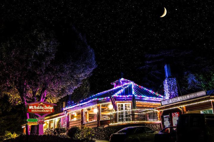 Pet Friendly Mt. Baldy Lodge Resturant