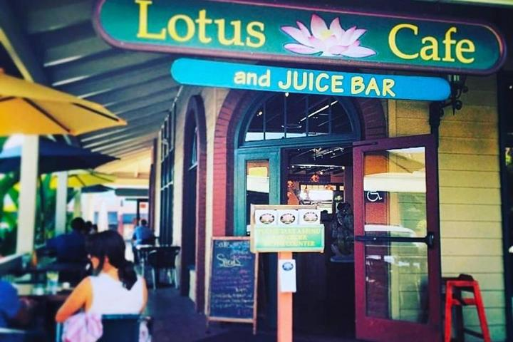 Pet Friendly Lotus Cafe and Juice Bar