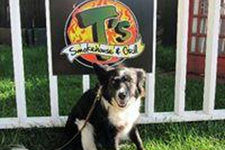 Pet Friendly T's Smokehouse and Grill